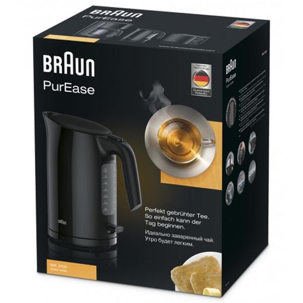 Чайник Braun WK 3100BK