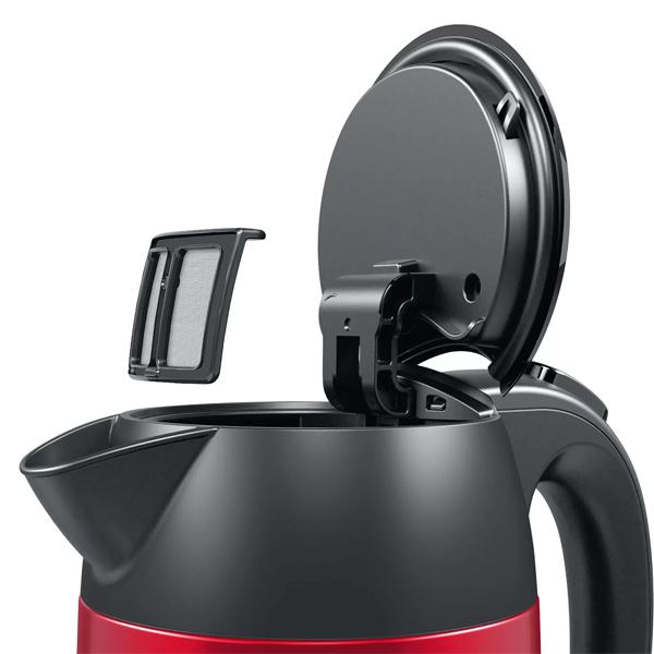 Чайник Bosch TWK3P424 DesignLine красный