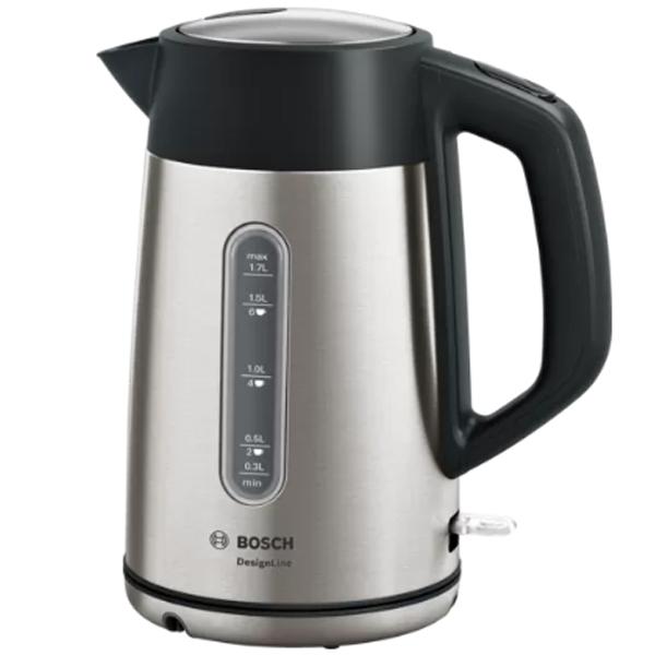 Чайник Bosch TWK4P440 DesignLine серебристый