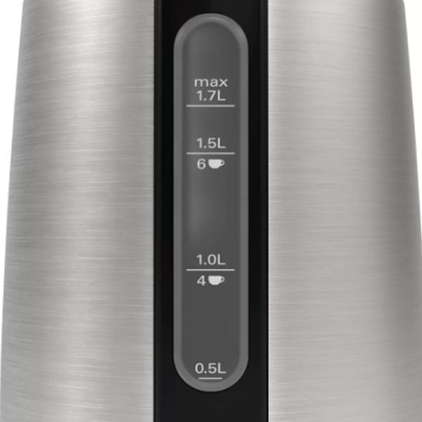 Чайник Bosch TWK3P420 DesignLine металлик