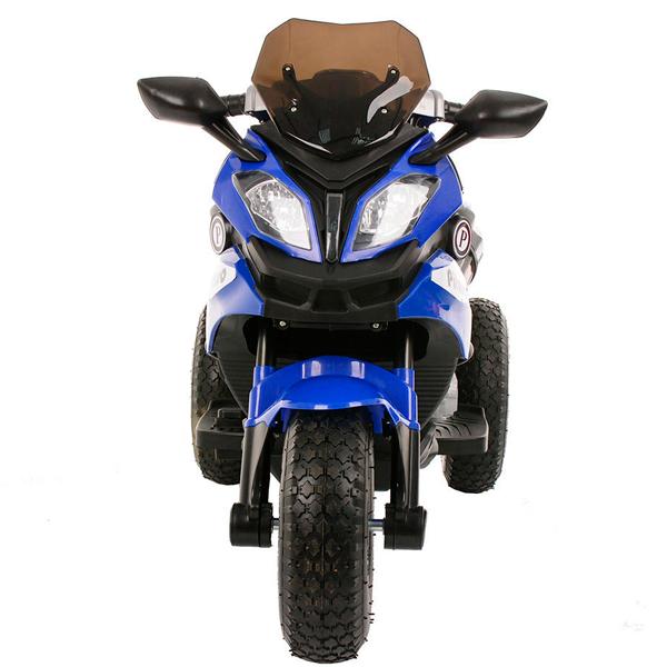 Электромотоцикл Pituso HLX2018/2-Blue (музыка,свет)