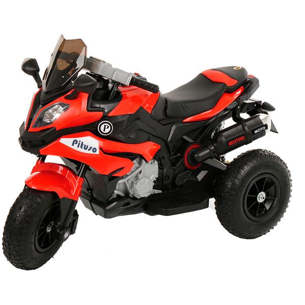 Электромотоцикл Pituso HLX2018, Красный (музыка,свет)