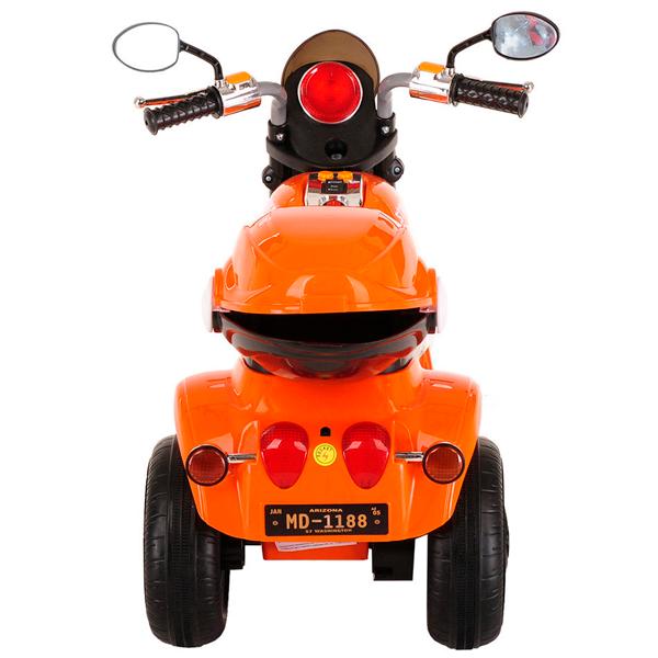 Электромотоцикл Pituso MD-1188, Оранжевый