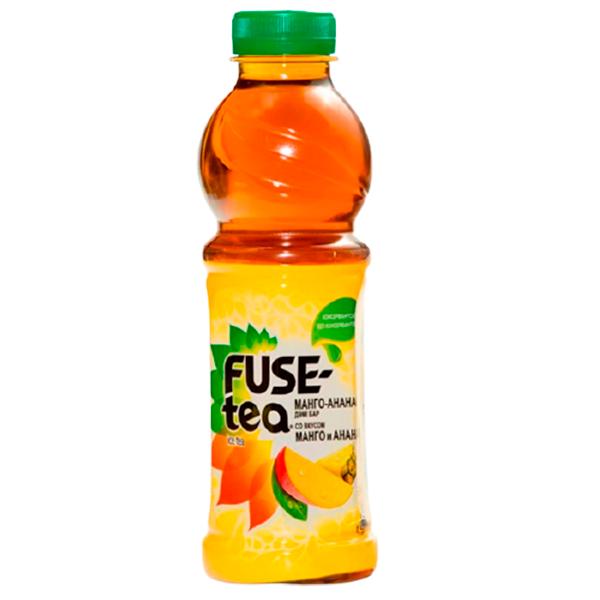 Чай Fuse Tea со вкусом манго-ананаса 0.5 л