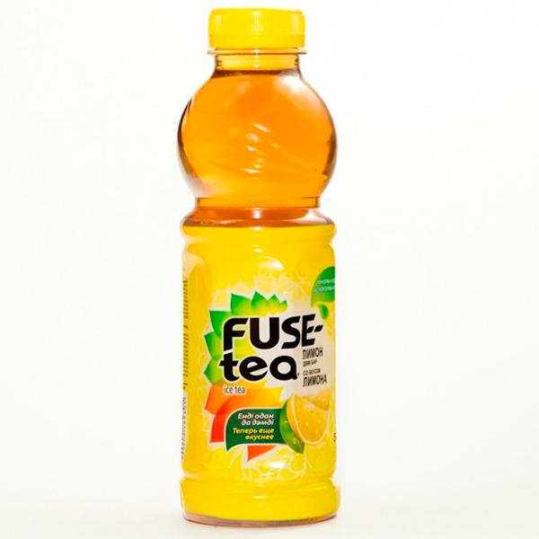Чай Fuse Tea со вкусом лимона 0.5 л