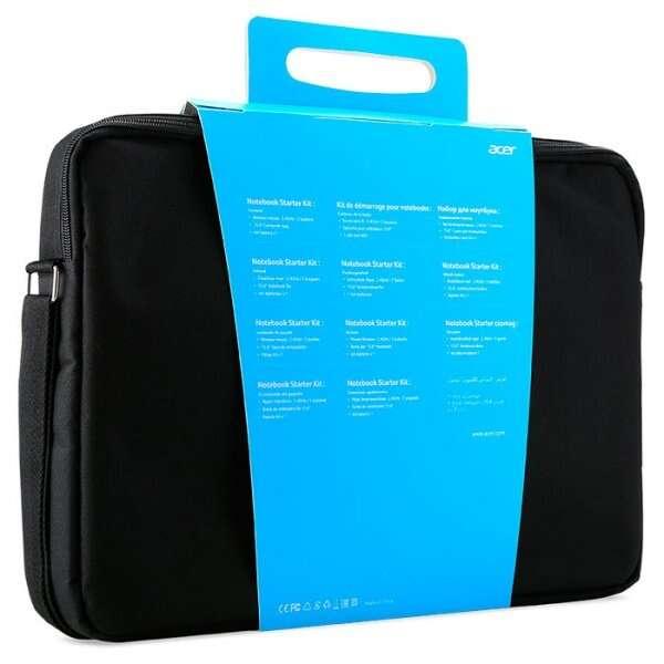 Комплект Acer Notebook Starter Kit (сумка для ноутбука + беспроводная Мышь) NP.ACC11.01X