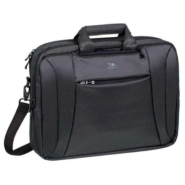 Сумка-трансформер для ноутбука Riva 8290 (Charcoal Black)