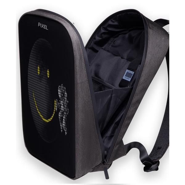 Рюкзак с LED-дисплеем Pixel Max Silver