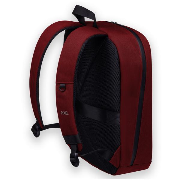 Рюкзак с LED-дисплеем Pixel Max Red Line