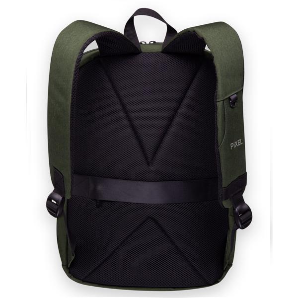 Рюкзак с LED-дисплеем Pixel Max Midnight Green