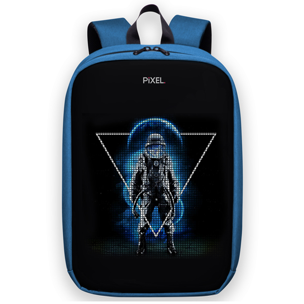 Рюкзак с LED-дисплеем Pixel Max Indigo