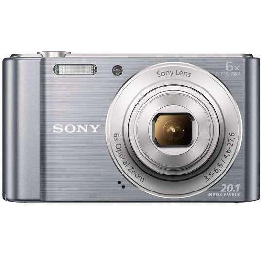 Цифровая фотокамера Sony DSC-W810/SC (Silver)