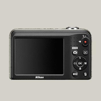 Цифровая фотокамера Nikon Coolpix A10 (black)