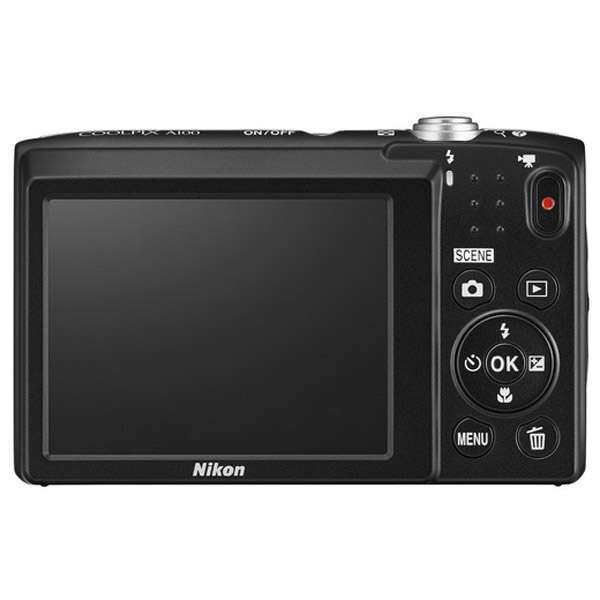 Цифровая фотокамера Nikon Coolpix A100 (black)