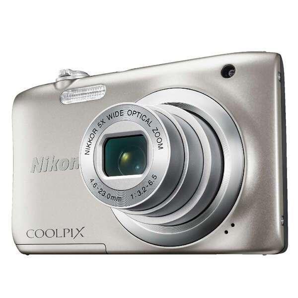 Цифровая фотокамера Nikon Coolpix A100 (silver)