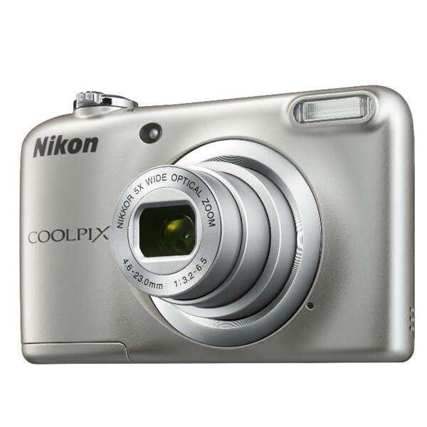 Цифровая фотокамера Nikon Coolpix A10 (silver)