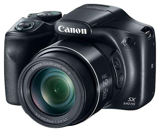 Компактный цифровой фотоаппарат Canon PowerShot SX 540 HS