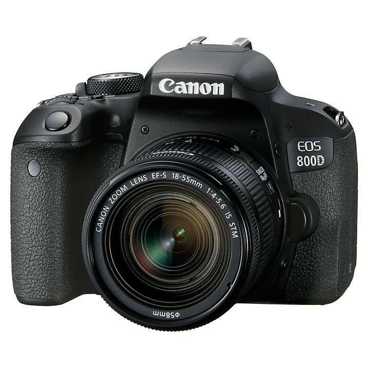 Цифровая фотокамера Canon EOS 800D 18-55 IS