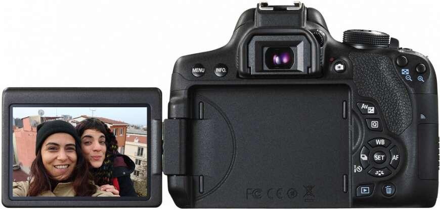 Цифровая фотокамера Canon EOS 750D 18-55 IS STM +50 1,8 STM