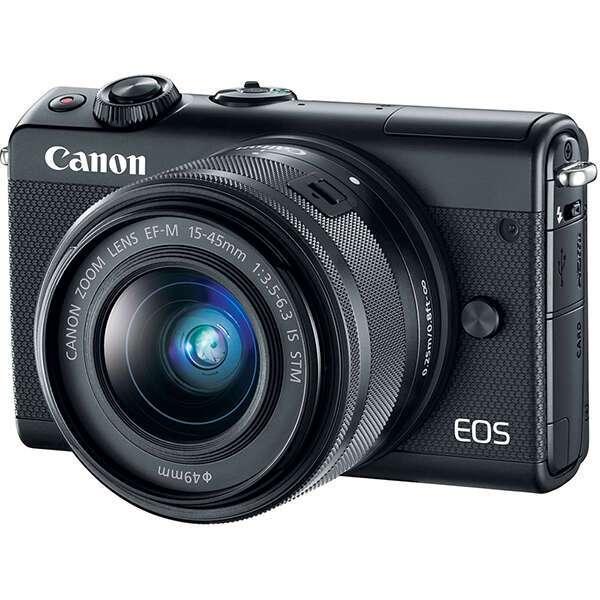 Компактный цифровой фотоаппарат Canon EOS M100 EF-M15-45 IS STM Kit