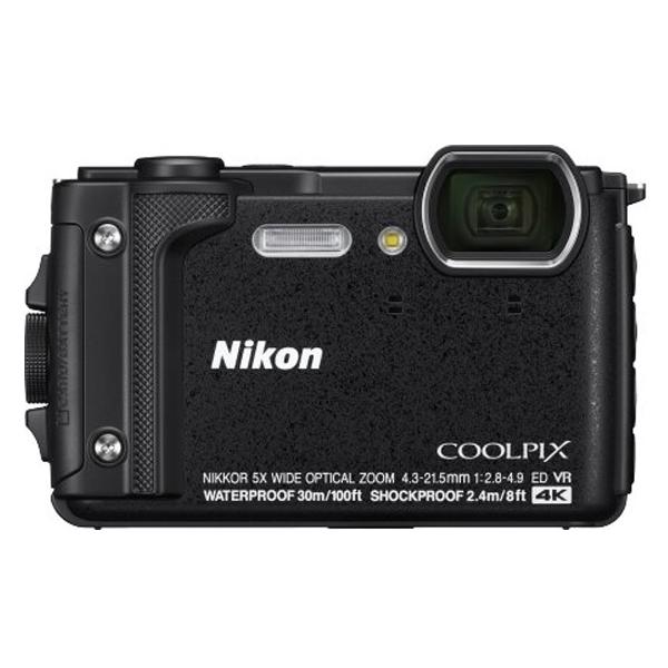 Цифровая фотокамера Nikon W300 Black