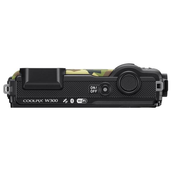 Цифровая фотокамера Nikon W300 Camouflage