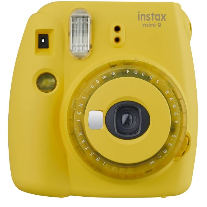 Фотокамера Fujifilm Instax mini 9 Clear Yellow
