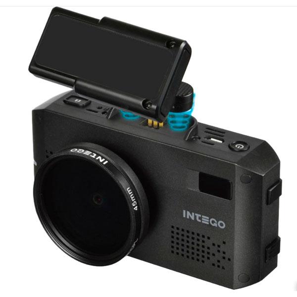 Видеорегистратор с радар-детектором и GPS INTEGO VX-1200S