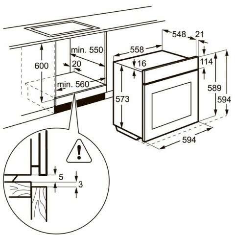 Встраиваемая духовка Electrolux OPEB2500R