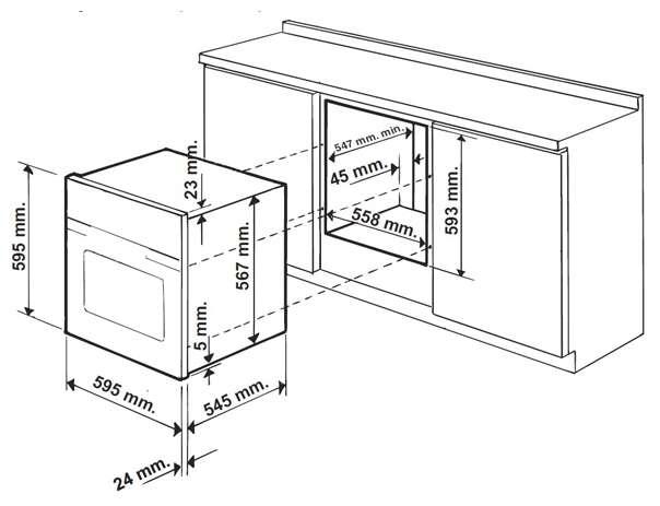 Встраиваемая духовка Hotpoint-Ariston 7OFTR 850 (OW) RUHA