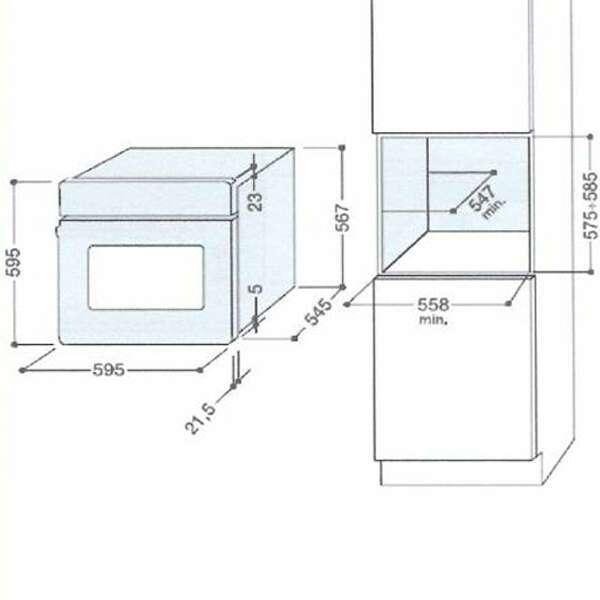 Встраиваемая духовка Hotpoint-Ariston FD 61.1 (MR)/HA S