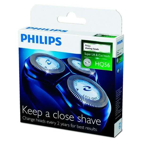 Бреющие головки Philips HQ56