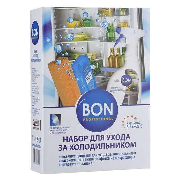 Набор для ухода за холодильниками,3 предмета BON BN-21060