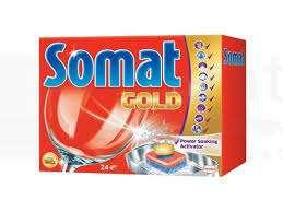 ПОДАРОК. Средство для посудомоечных машин Somat Gold 22 таблетки
