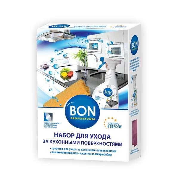 Набор для ухода за кухонными поверхностями BON BN-21061