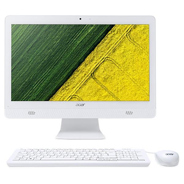 Моноблок Acer Aspire C20-820 (DQ.BC4MC 003) White