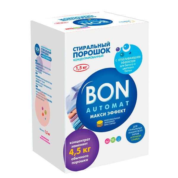 Концентрированный стиральный порошок BON BN-139