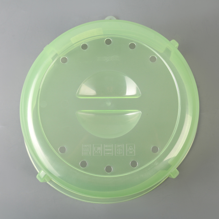 Крышка для СВЧ d=26.4 см Express, цвет киви