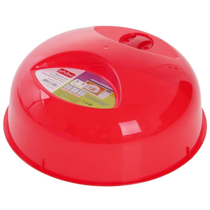 Крышка для продуктов d=23 см, цвета МИКС