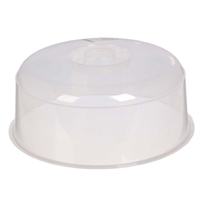 Крышка для СВЧ-печи 24 см, прозрачная