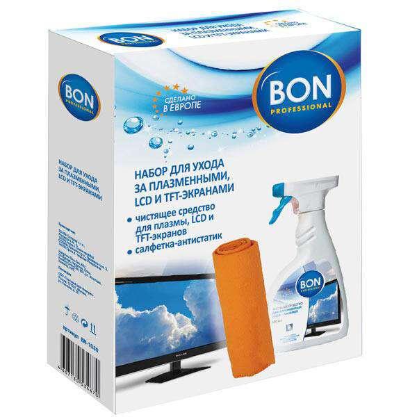 Набор для ухода за экранами телевизоров BON BN-1030