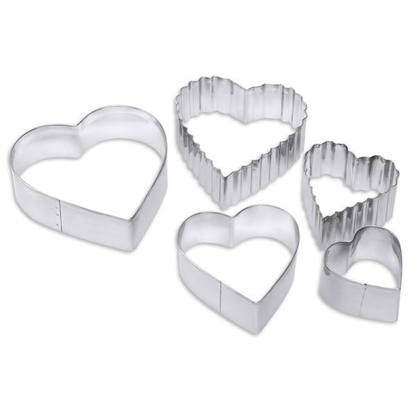 Формочки для печенья Dosh Home Vela сердце 5 шт 302003