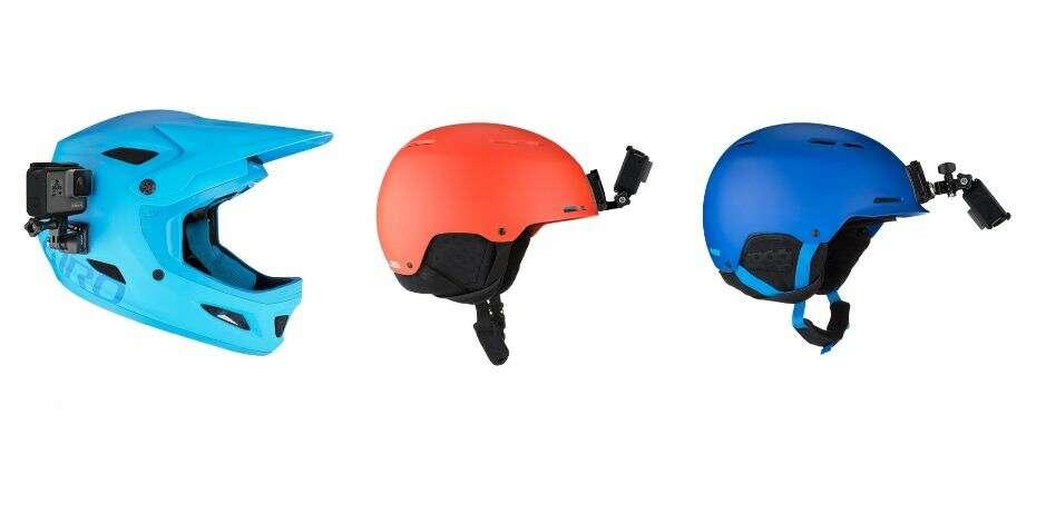 Набор креплений на шлем GoPro AHFSM-001 (Helmet Front + Side Mount)