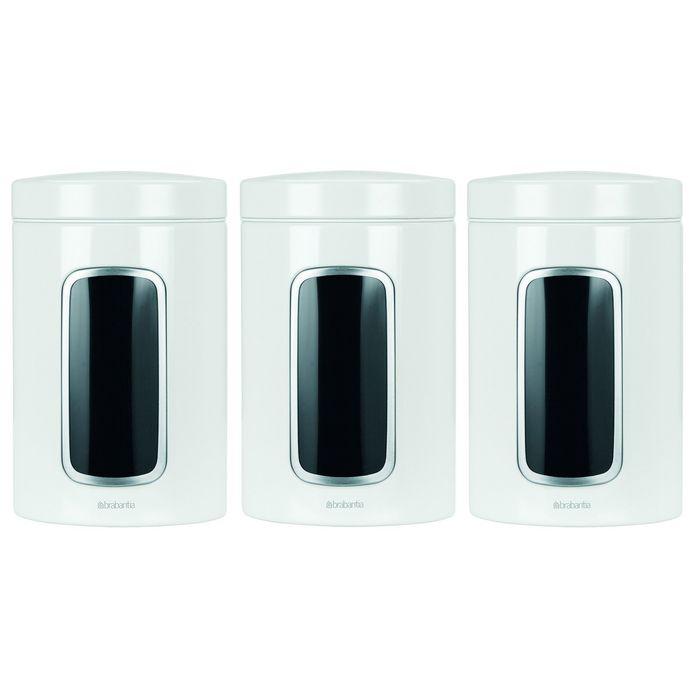 Набор контейнеров с окном 3 предмета, объём 1,4 л