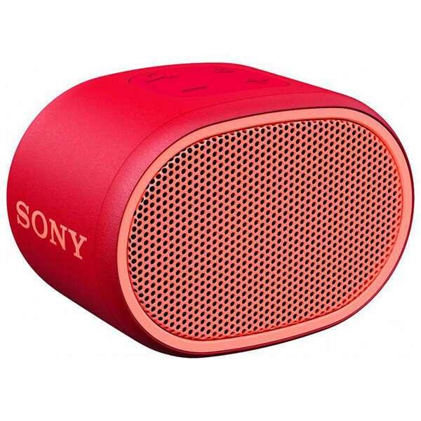 Портативная колонка Sony SRSXB01R.RU2