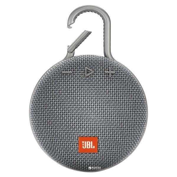 Портативная колонка JBL Clip 3 Grey