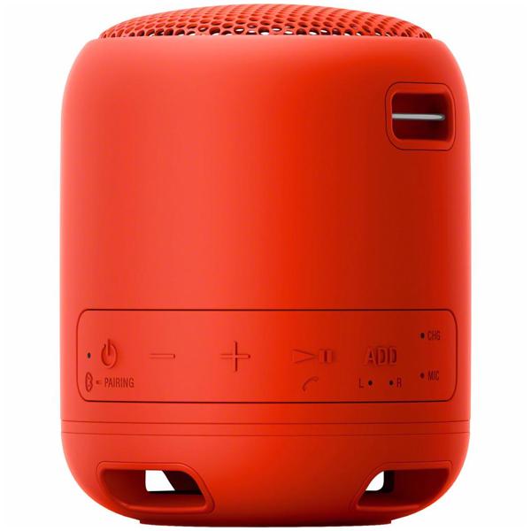 Портативная колонка Sony SRSXB12R.RU2 (Red)