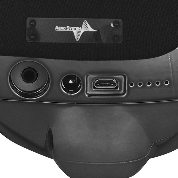 Портативная акустическая система AeroSystem AeroBull XS1 (Chrome black)
