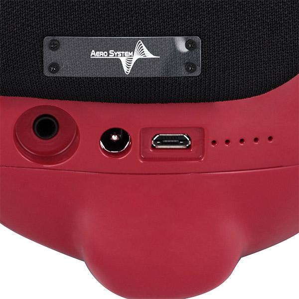 Портативная акустическая система AeroSystem AeroBull XS1 (Glossy Red)
