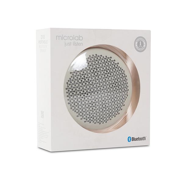 Портативная колонка Microlab D18 (White)